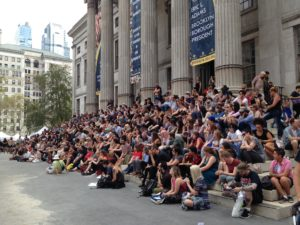 Brooklyn Book Festival crowd