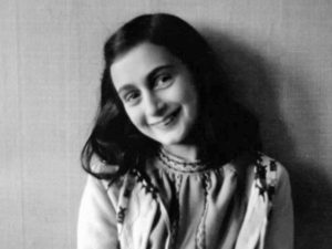 Anne Frank smiling